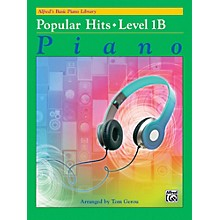 Alfred Basic Piano Library: Popular Hits Level 1B