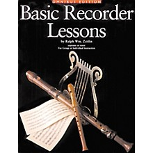 Music Sales Basic Recorder Lessons Omnibus Edition