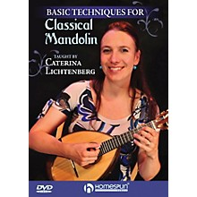 Hal Leonard Basic Techniques Of Classical Mandolin DVD