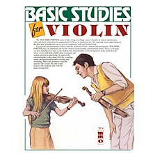 Music Minus One Basic Violin Studies (Teacher's Partner) Music Minus One Series Softcover with CD