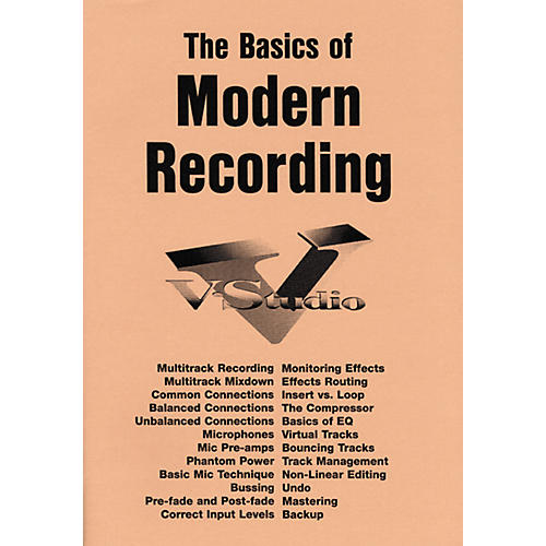 Roland Basics of Modern Recording Book