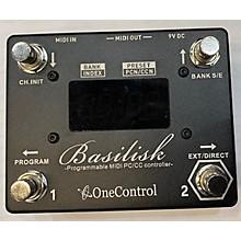 One Control Basilisk Programmable MIDI Controller Pedal