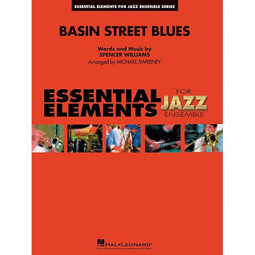 Hal Leonard Basin Street Blues Jazz Band Level 1-2 Arranged by Michael Sweeney