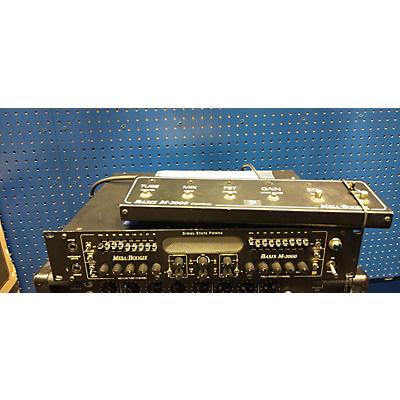 Mesa Boogie Basis M-2000 Bass Amp Head