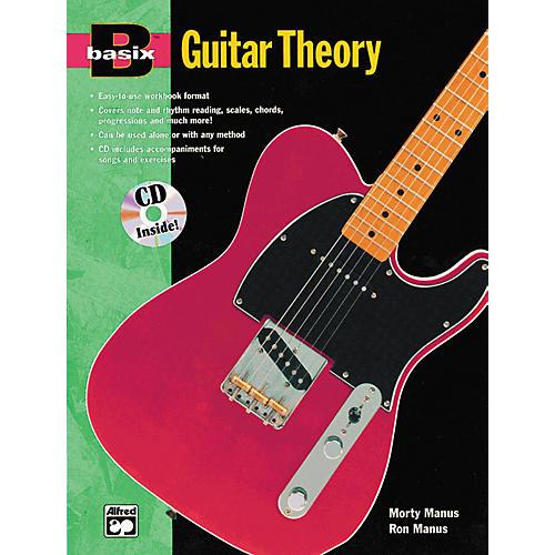 Alfred Basix Guitar Theory Book and CD