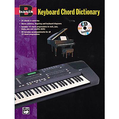 Alfred Basix Keyboard Chord Dictionary