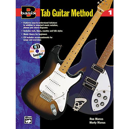 Alfred Basix TAB Guitar Method #1 CD