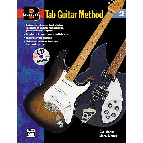 Alfred Basix TAB Guitar Method #2 Book/CD