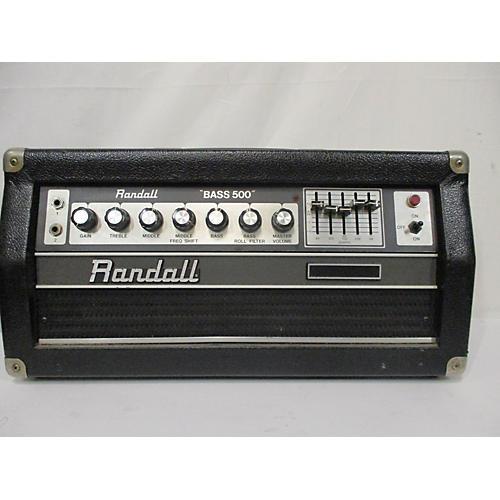 Randall Bass 500 Bass Amp Head