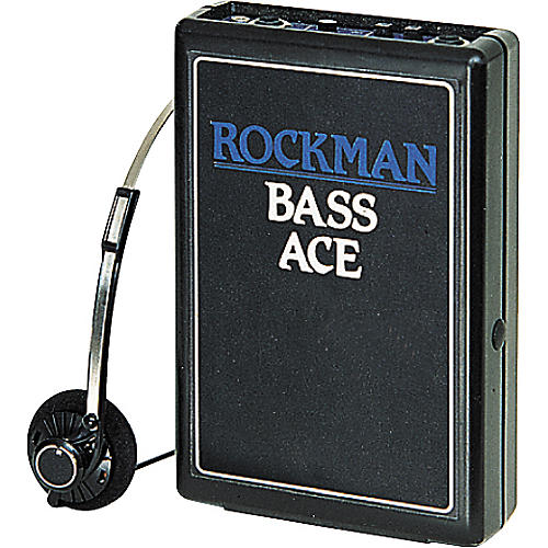 Rockman Bass Ace Headphone Amp Condition 1 - Mint