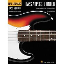 Hal Leonard Bass Arpeggio Finder by Chad Johnson Book
