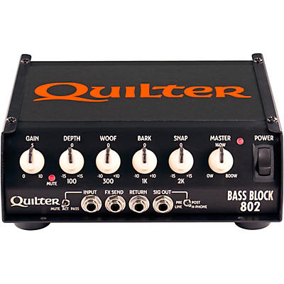 Quilter Labs Bass Block 802 800W Bass Amp Head
