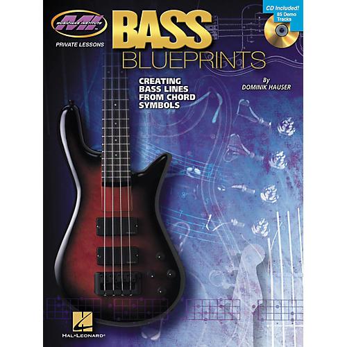 Hal Leonard Bass Blueprints - Creating Bass Lines from Chord Symbols (Book/CD)