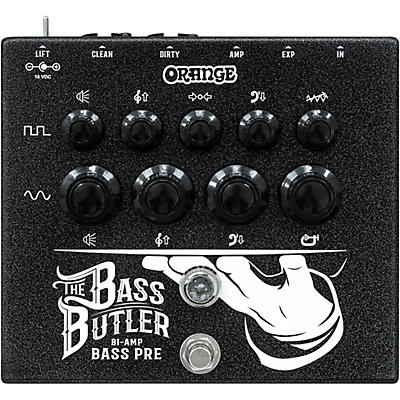 Orange Amplifiers Bass Butler Bi-Amping DI Pedal
