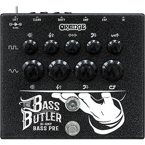 Orange Amplifiers Bass Butler Bi-Amping DI Pedal Black