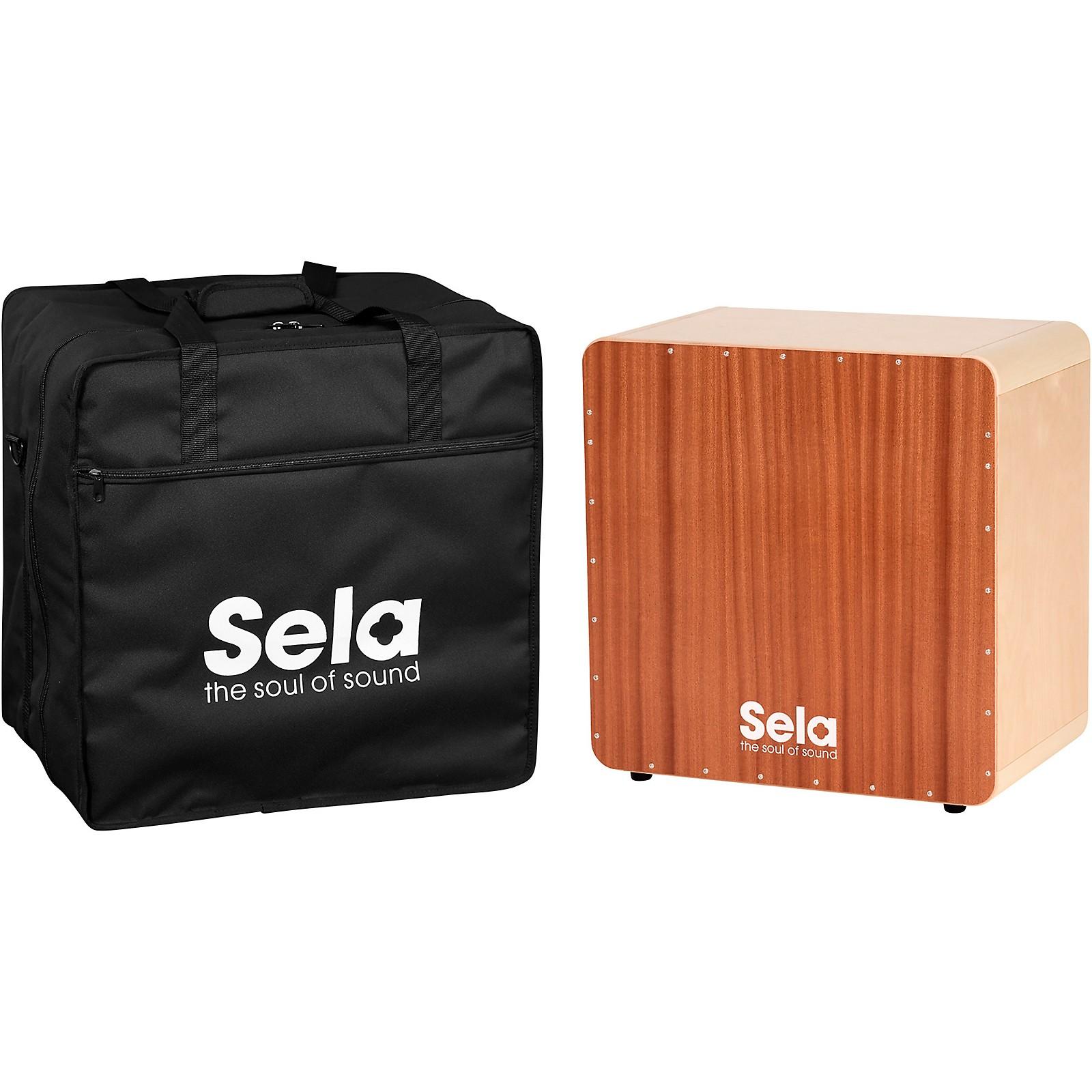 Sela Bass Cajon with Bag