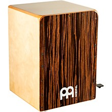 Open Box Meinl Bass Cajon with Snare Pedal and Ebony Frontplate