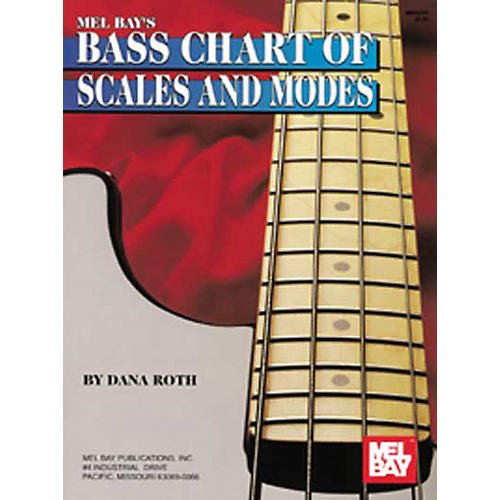 Mel Bay Bass Chart of Scales and Modes
