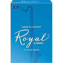 Bass Clarinet Reeds, Box of 10 Strength 3.5