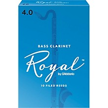 Bass Clarinet Reeds, Box of 10 Strength 4