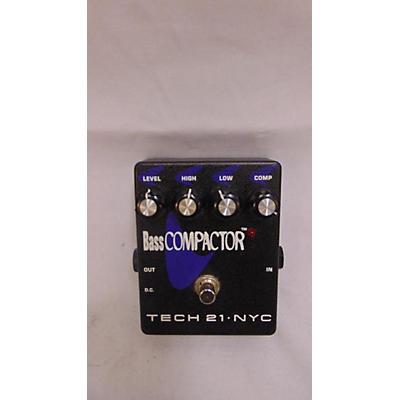 Tech 21 Bass Compactor Bass Effect Pedal