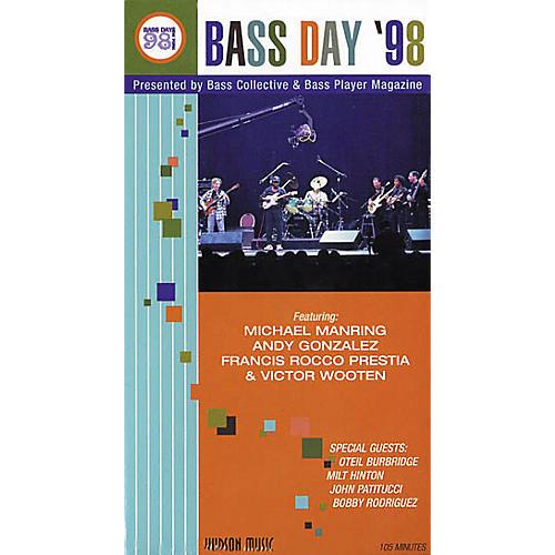 Hudson Music Bass Day 1998 VHS Video