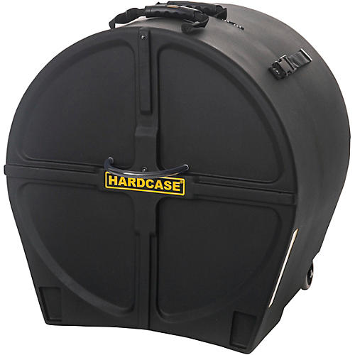HARDCASE Bass Drum Case with Wheels