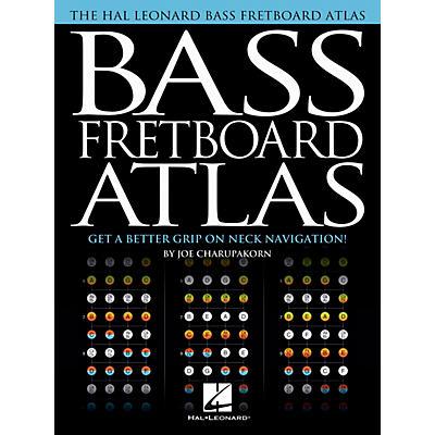 Hal Leonard Bass Fretboard Atlas - Get a Better Grip on Neck Navigation!