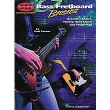 Hal Leonard Bass Fretboard Basics Book