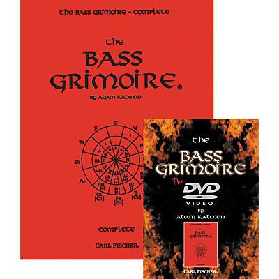 Carl Fischer Bass Grimoire Book & DVD Package