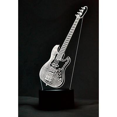 AIM Bass Guitar 3D LED Lamp Optical Illusion Light