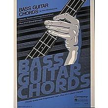 Hal Leonard Bass Guitar Chords Book