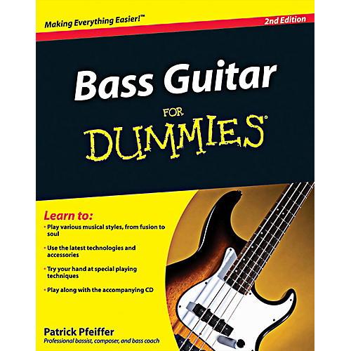 Mel Bay Bass Guitar for Dummies, 2nd Edition Book/CD Set