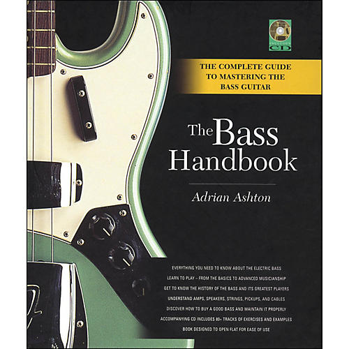 Backbeat Books Bass Handbook - A Complete Guide To Mastering The Bass Guitar
