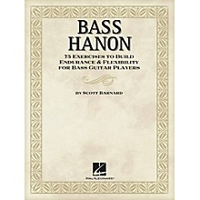 Hal Leonard Bass Hanon - 75 Exercises to Build Endurance and Flexibility for Bass Guitar Players