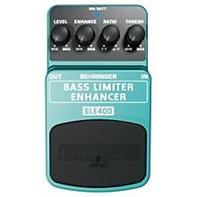 Open BoxBehringer Bass Limiter Enhancer BLE400 Bass Effects Pedal