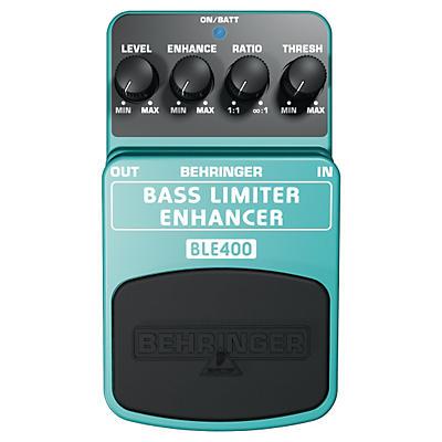 Behringer Bass Limiter Enhancer BLE400 Bass Effects Pedal