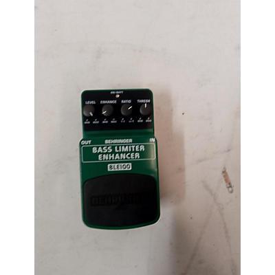 Behringer Bass Limiter Enhancer Pedal