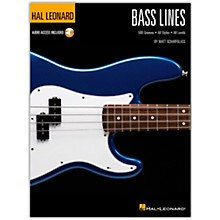 Hal Leonard Bass Lines - Hal Leonard Bass Method Book/Audio Online
