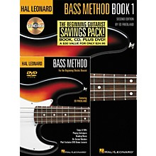 Hal Leonard Bass Method Beginner's Pack (Book/CD/DVD)