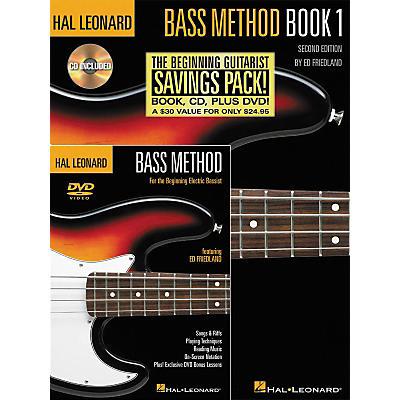 Hal Leonard Bass Method Beginner's Pack (Book/CD/DVD)