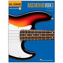 Hal Leonard Bass Method Book 3 - 2nd Edition (Book/Online Audio)