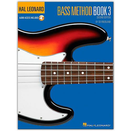Hal Leonard Bass Method Book 3 - 2nd Edition (Book/Online Audio)