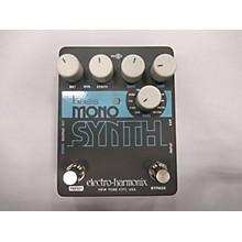Electro-Harmonix Bass Mono Synth Bass Bass Effect Pedal