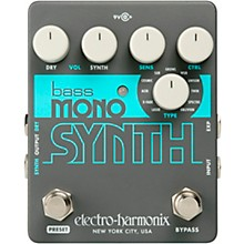 Electro-Harmonix Bass Mono Synth Bass Effects Pedal