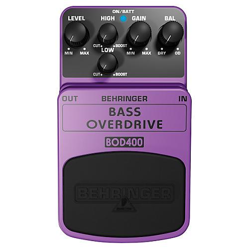 Behringer Bass Overdrive BOD400 Bass Effects Pedal