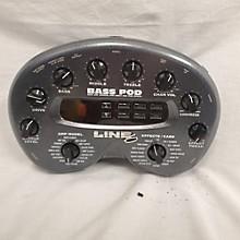 Line 6 Bass POD XT Bass Effect Pedal