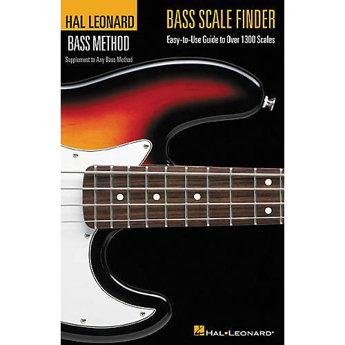 Hal Leonard Bass Scale Finder(Book)
