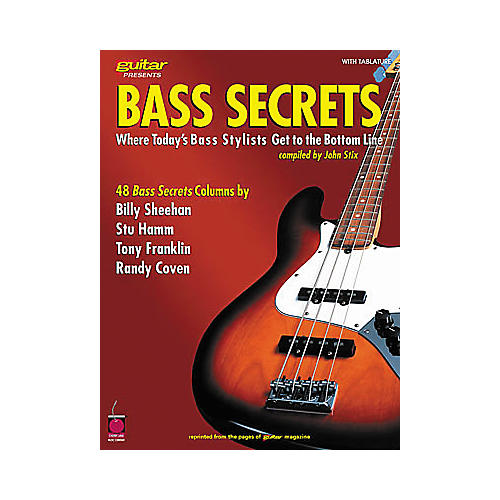 Cherry Lane Bass Secrets Book
