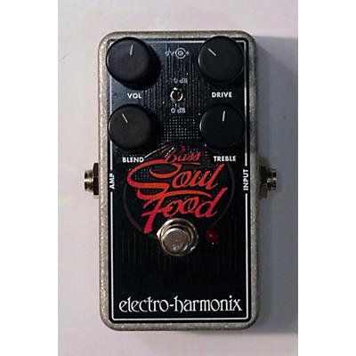 Electro-Harmonix Bass Soul Food Overdrive Bass Effect Pedal